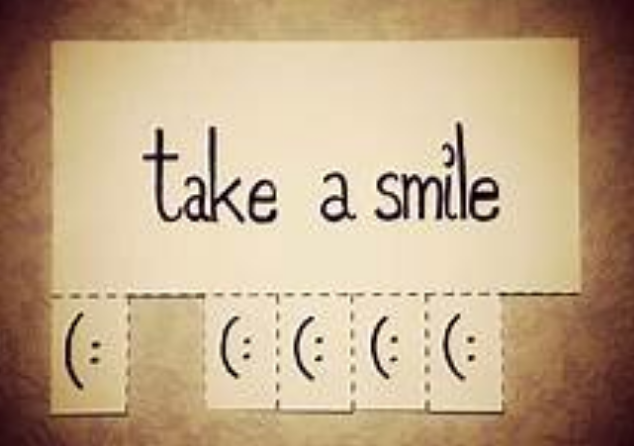 take a smile with you